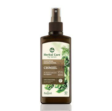 Herbal Care Chmiel odżywka do włosów pozbawionych objętości nadająca objętość 200 ml