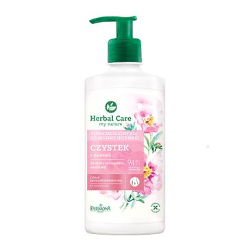 Herbal Care Delicate Intimate Gel ultradelikatny żel do higieny intymnej Czystek 330ml