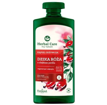 Herbal Care kąpiel odżywcza dzika róża 500 ml