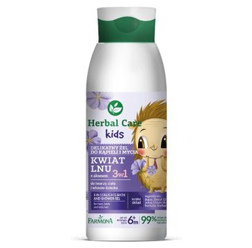 Herbal Care – Kids Żel do kąpieli i mycia (400 ml)