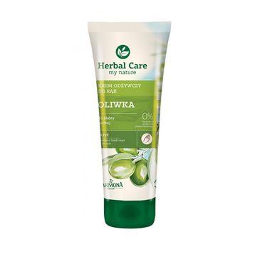 Herbal Care krem do rąk i paznokci odżywczy oliwkowy 100 ml