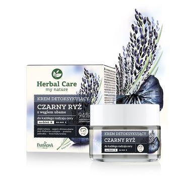 Herbal Care krem do twarzy na dzień i na noc czarny ryż 50 ml
