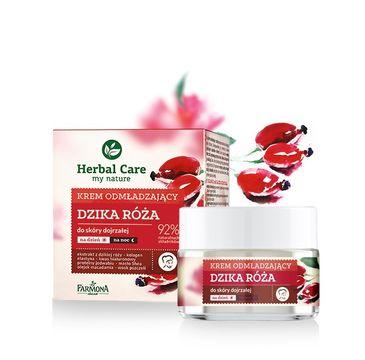 Herbal Care krem do twarzy odmładzający z różą na dzień i noc 50 ml
