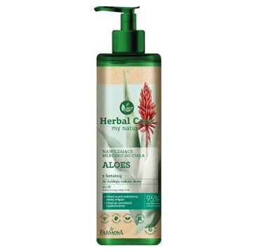 Herbal Care Nawilżające mleczko do ciała Aloes (400 ml)