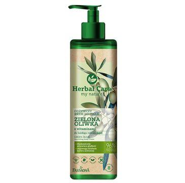 Herbal Care Odżywczy krem do ciała Zielona Oliwka (400 ml)