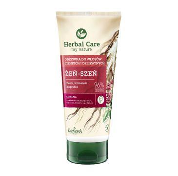 Herbal Care odżywka do włosów cienkich i delikatnych żeń-szeń 200 ml