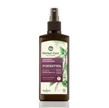 Herbal Care odżywka do włosów przeciw przetłuszczaniu pokrzywa 200 ml