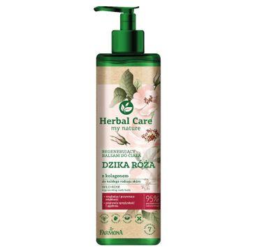 Herbal Care Regenerujący balsam do ciała Dzika Róża (400 ml)