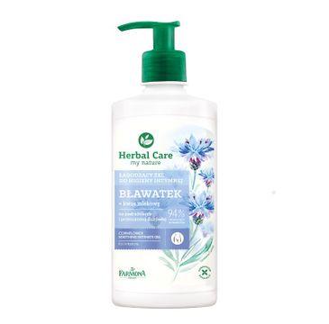 Herbal Care Soothing Intimate Gel łagodzący żel do higieny intymnej Bławatek 330ml