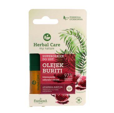 Herbal Care Superolejek do ust odżywczo-ochronny Buriti 5 ml