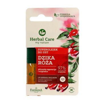 Herbal Care Superolejek do ust regenerująco-wygładzający 5 ml