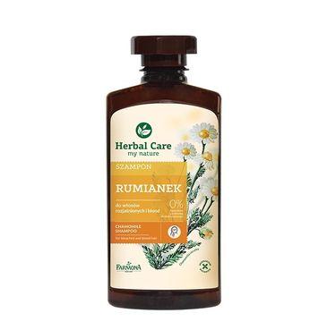 Herbal Care szampon do włosów blond rumianek 330 ml