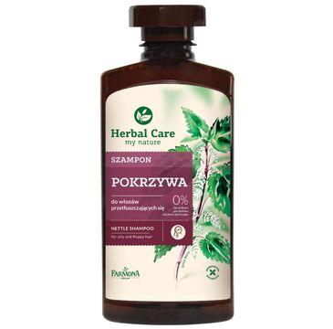 Herbal Care szampon do włosów przetłuszczających się pokrzywa 330 ml