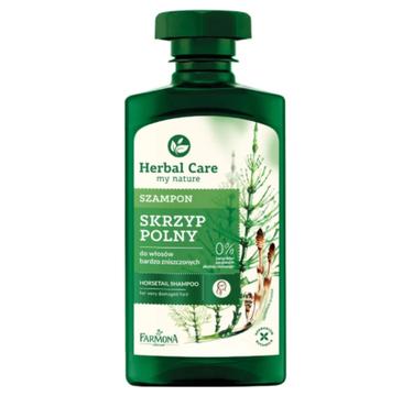 Herbal Care szampon do włosów zniszczonych skrzyp polny (330 ml)