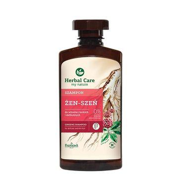 Herbal Care szampon do włosów zniszczonych żeń-szeń 330 ml