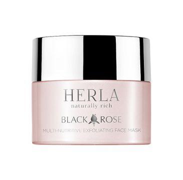 Herla Black Rose multiodżywcza maska eksfoliująca do twarzy 50ml