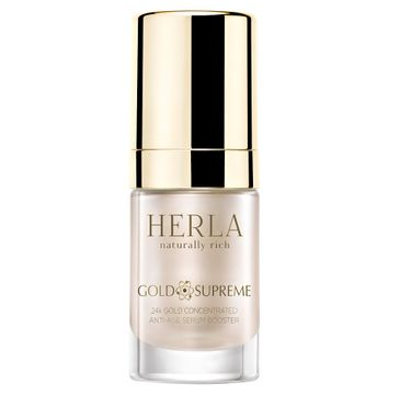 Herla Gold Supreme 24k Złoto Booster skoncentrowane serum odmładzające 15ml