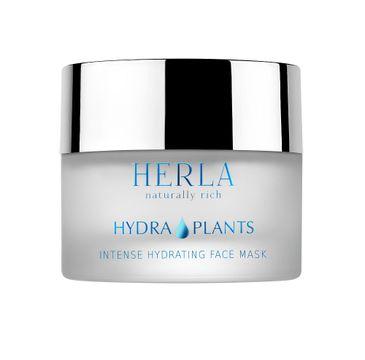 Herla Hydra Plants intensywnie nawilżająca maska do twarzy 50ml