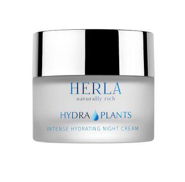 Herla Hydra Plants intensywnie nawilżający krem na noc 50ml