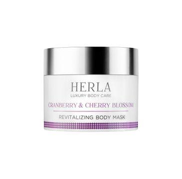 Herla Luxury Body Care odżywcza maska do ciała Żurawina & Kwiat Wiśni 200ml