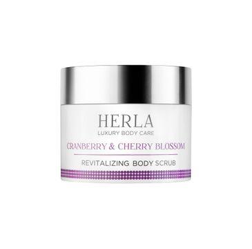 Herla Luxury Body Care odżywczy peeling do ciała Żurawina & Kwiat Wiśni 200ml