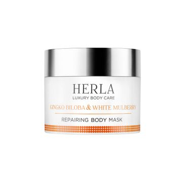 Herla Luxury Body Care regenerująca maska do ciała Miłorząb Japoński & Morwa Biała 200ml