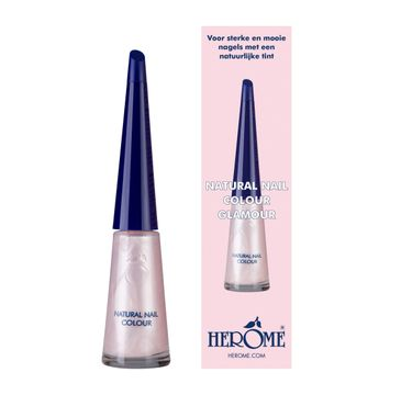 Herome Natural Nail Colour lakier do paznokci Glamour 10ml
