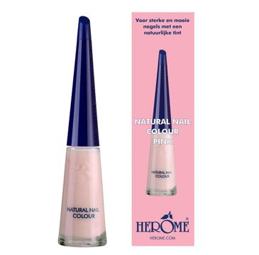 Herome Natural Nail Colour lakier do paznokci Pink 10ml