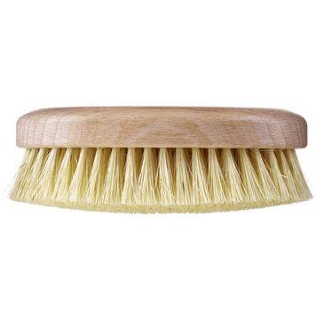 Hhuumm – Szczotka do masażu i mycia ciała twarde włókno tampico wersja krótka bez paska (1 szt.)