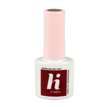 Hi Hybrid lakier hybrydowy #250 Sparkling Red 5 ml