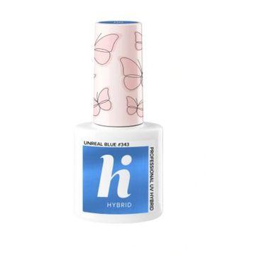 Hi Hybrid – lakier hybrydowy 343 Unreal Blue (5 ml)