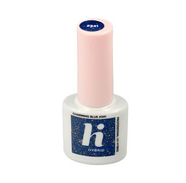 Hi Hybrid Lakier hybrydowy Sparkle #341 Charming Blue 5 ml