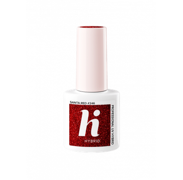 Hi Hybrid – Lakier hybrydowy Carnival Sana Red #246 (5 ml)