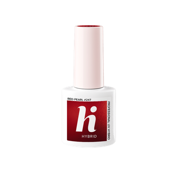 Hi Hybrid – Lakier hybrydowy Carnival Red Pearl #247 (5 ml)