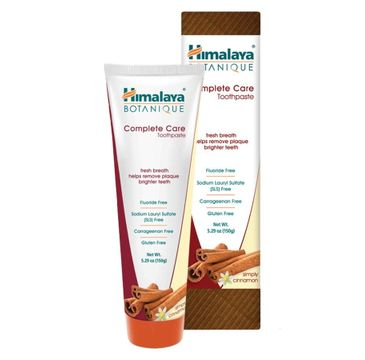Himalaya Botanique Complete Care Toothpaste botaniczna pasta do zębów Simply Cinnamon 150g