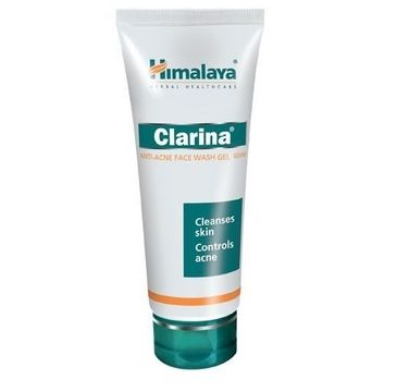 Himalaya Herbal Healthcare Clarina Anti Acne Face Wash Gel przeciwtrądzikowy żel do mycia twarzy 60ml