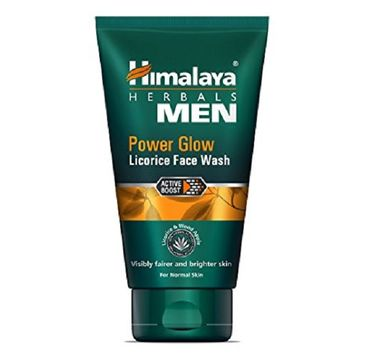 Himalaya Herbal Men Power Glow Licorice Face Wash żel do mycia twarzy Lukrecja 100ml