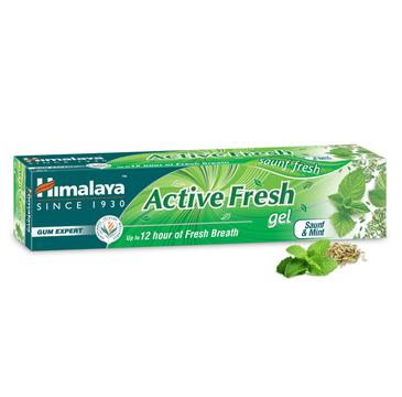 Himalaya Herbals Active Fresh Gel Toothpaste żelowa pasta do zębów bez fluoru (80 g)