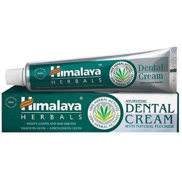 Himalaya Herbals Ayurvedic Dental Cream pasta do zębów z naturalnym fluorem 100g