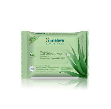 Himalaya – Herbals chusteczki oczyszczające do twarzy z Aloe Vera (1 op. 25 szt.)