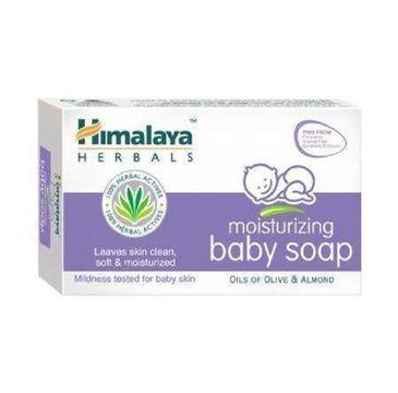 Himalaya Herbals Moisturizing Baby Soap nawilżające mydełko dla dzieci 70g