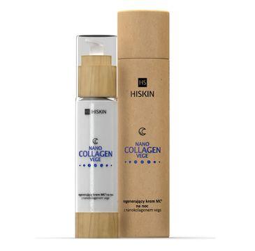 HiSkin Nanocollagen Vege Night Cream regenerujÄ…cy krem na noc z nanokolagenem vege (50 ml)