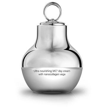 HiSkin SkinLed Ultra Nourishing MC2 Day Cream With Nanocollagen Vege nawilżający krem na dzień z mikromasażem (50 ml)