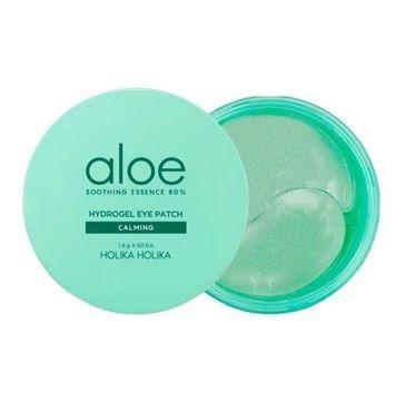 HOLIKA HOLIKA Aloe Soothing Essence Hydrogel Eye Patch hydrożelowe płatki pod oczy 60szt.