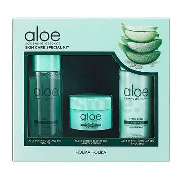 HOLIKA HOLIKA Aloe Soothing Essence Skin Care Special Kit zestaw do pielęgnacji twarzy