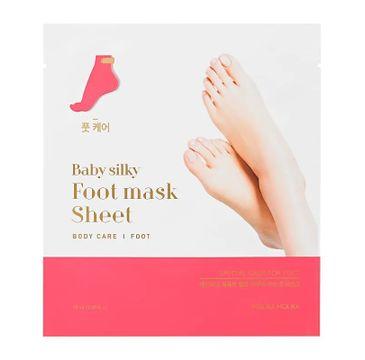 HOLIKA HOLIKA Baby Silky Foot Mask Sheet regenerująca maseczka do stóp w formie skarpet 18ml