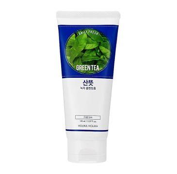 Holika Holika Daily Fresh Green Tea Cleansing Foam oczyszczająca pianka do twarzy z zieloną herbatą (150 ml)
