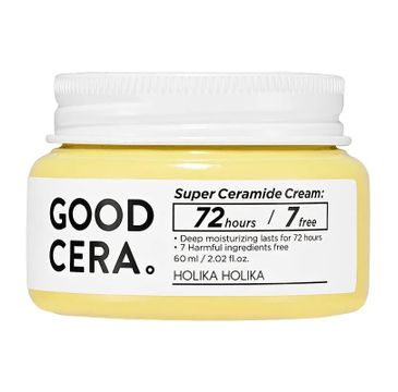 HOLIKA HOLIKA Good Cera Super Ceramide Cream długotrwale nawilżający krem do cery suchej i wrażliwej 60ml