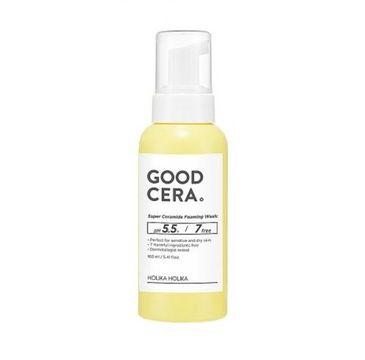 HOLIKA HOLIKA Good Cera Super Ceramide Foaming Wash delikatna pianka oczyszczająca do twarzy 160ml