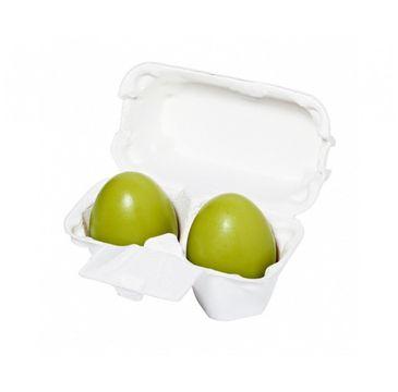 HOLIKA HOLIKA Green Tea Egg Soap oczyszczające mydło do twarzy Zielona Herbata 2x50g